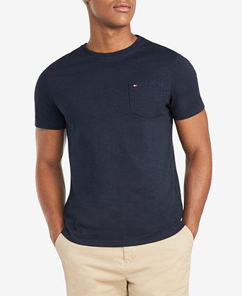 Мужская большая и высокая футболка с круглым вырезом Tommy Tommy Hilfiger
