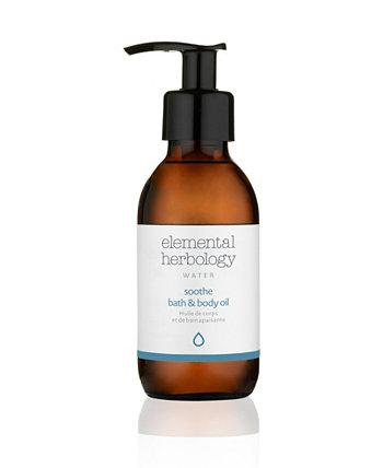 Успокаивающее масло для тела для ванн, 5 жидких унций Elemental Herbology