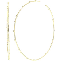 4-дюймовые серьги-кольца с большой задницей Melinda Maria
