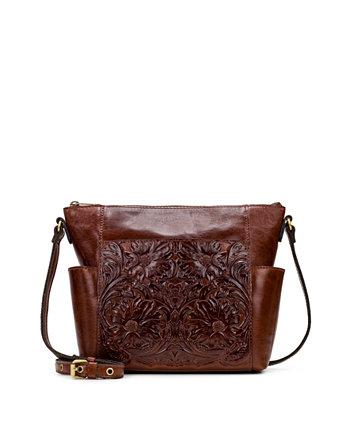 Кожаная сумка через плечо Aveley Patricia Nash