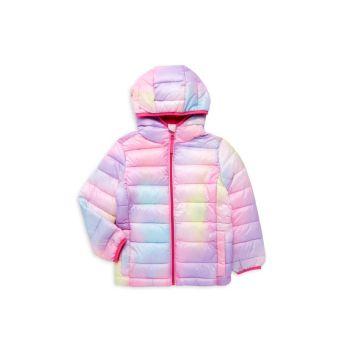 Пуховик Little Girl's Tie-Dye Packable Urban Republic