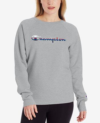Women's Powerblend Logo Sweatshirt Champion