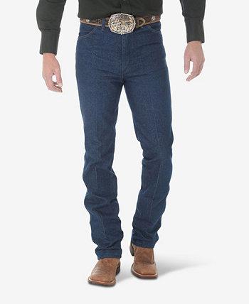 Мужские зауженные прямые джинсы ковбойского кроя с прямыми штанинами Wrangler