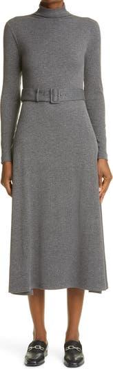 Вязаное платье миди с длинными рукавами Melissah CLUB MONACO