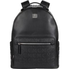 Кожаный рюкзак 40 Stark с монограммой MCM