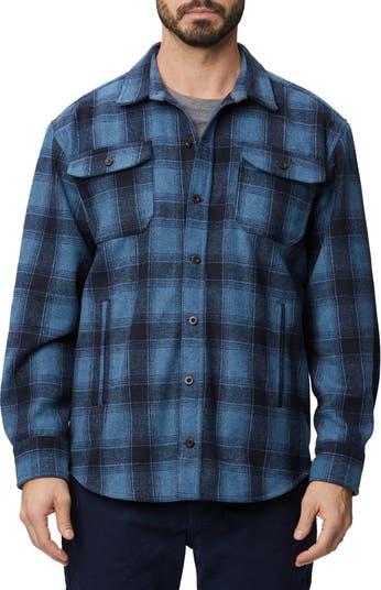 Жакет-рубашка в клетку из смесовой шерсти Rainforest