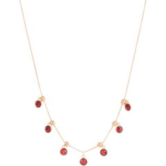 18-дюймовое ожерелье из алого миража Crystal Infusion Alex and Ani