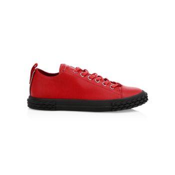 Кожаные кроссовки Blabber Moxie Giuseppe Zanotti