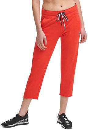 Спортивные брюки с завязками на талии DKNY