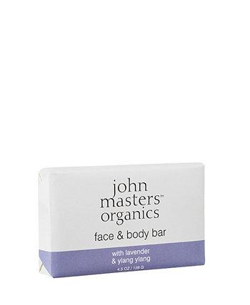 Лицо Body Bar с лавандовым иланг-иланг - 4,5 эт. унция John Masters Organics