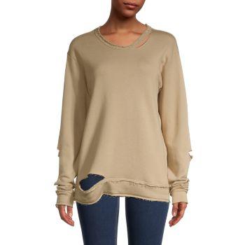 Cypher Distressed Sweatshirt ALALA