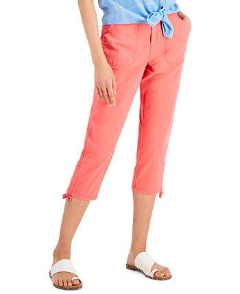 Petite Utility Capri Pants, Created for Macy's Style & Co