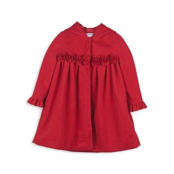 Маленькая девочка & amp; Пальто с капюшоном для девочек Joe-Ella