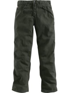 Большие и высокие огнестойкие брюки из плотной ткани Carhartt
