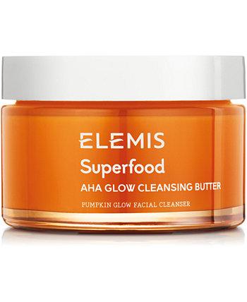 Очищающее масло Superfood AHA Glow Cleansing Butter, 3 унции. Elemis