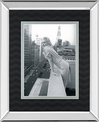 """Картина «Вершина мира» из коллекции «Челси» с принтом в зеркальной раме, 34 """"x 40"""" Classy Art"""