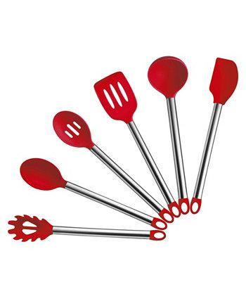 Набор силиконовых принадлежностей из 6 предметов Culinary Edge