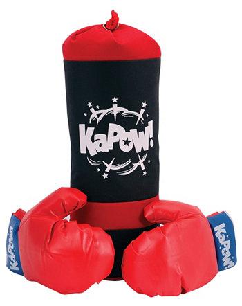 Боксерская груша и набор перчаток Schylling