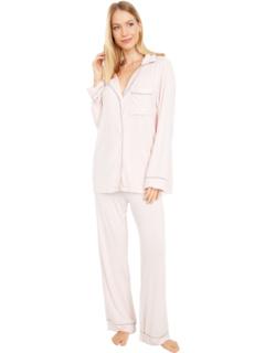 Пижамный комплект из трикотажа Luxe Milk Barefoot Dreams