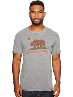Футболка с тремя рукавами и винтажным рисунком California Republic The Original Retro Brand