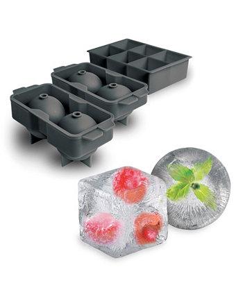 Набор Elements Jumbo / Sphere Ice Tovolo