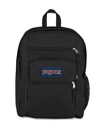 Большой студенческий темно-синий рюкзак JanSport