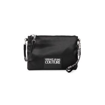 Двусторонняя сумка через плечо с логотипом Versace Jeans Couture