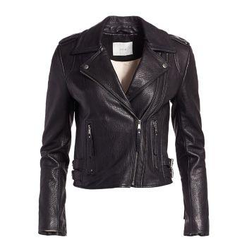Кожаная куртка Leolani Joie