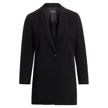 Finesse Crepe Jobelle Jacket Lafayette 148 New York, Plus Size