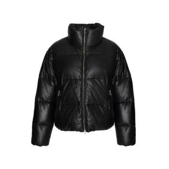 Кожаная куртка-пуховик Iris LAMARQUE