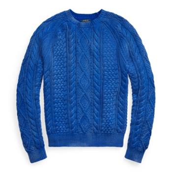 The Iconic Fisherman's Sweater Ralph Lauren