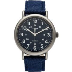 Часы Weekender® с 3 стрелками и 40 мм тканевым ремешком Timex