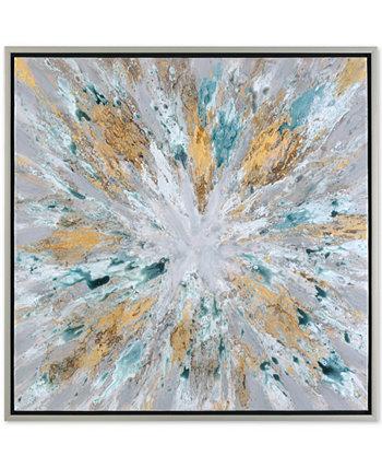 Современное абстрактное искусство стены взрывающаяся звезда Uttermost