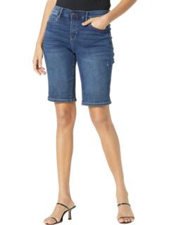 Трикотажные джинсовые шорты 9 дюймов Nicole Miller New York
