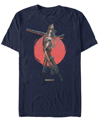 Мужская футболка Mandalorian Red Sun IG-11 Star Wars