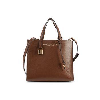 Кожаная сумка-портфель Mini Grind с покрытием Marc Jacobs