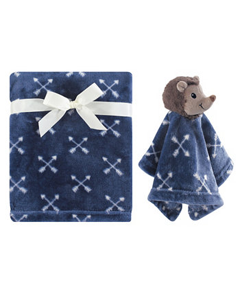 Плюшевое одеяло и комплект защитных одеял Hudson Baby