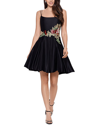 Юниорское платье с вышивкой и пышной юбкой Blondie Nites