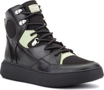 Кожаные кроссовки Globetrotter Mid Hybrid Green Label