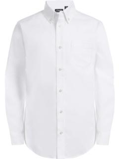 Оксфордская классическая рубашка с длинным рукавом на пуговицах CHAPS