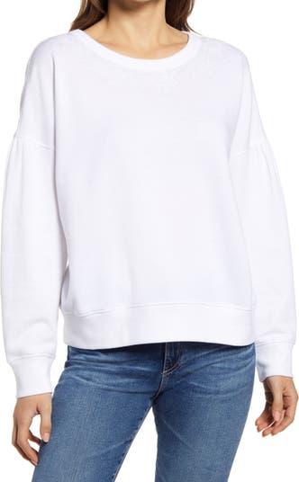 ? Пуловер с вышивкой и круглым вырезом Caslon