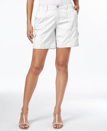 Шорты-карго с комфортной талией, созданные для Macy's Style & Co