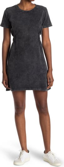 Эластичное платье с разрезом по бокам Acid Wash Cloth By Design