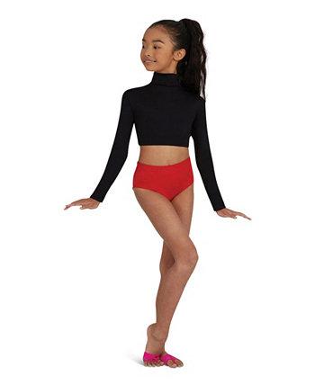 Классические трусики для танцев стретч для больших девочек Capezio