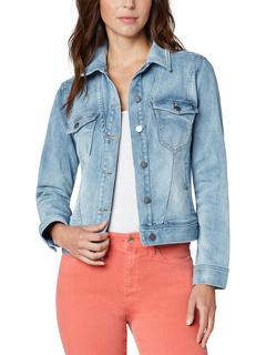 Классическая джинсовая куртка с угловыми швами Liverpool