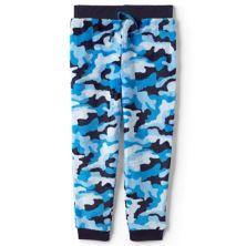 Boys 4-16 Lands' End Plush Fleece Jogger Pajama Pants Lands' End