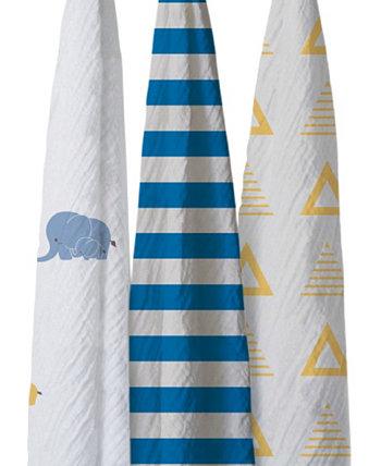 Комплект хлопкового одеяла Bella Elephants IGH Global Corporation