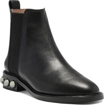 Venda Embellished Heel Chelsea Boot Louise et Cie