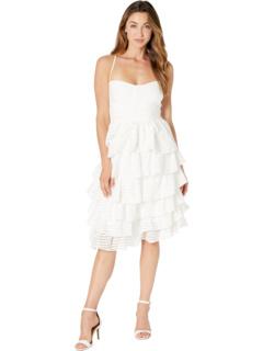 Платье с эффектом «панельное» Bardot