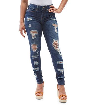 Рваные джинсы скинни для юниоров Dollhouse